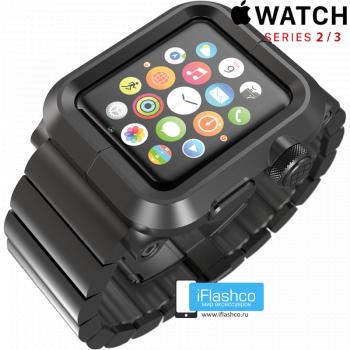Чехол Lunatik LYNK Blackout для Apple Watch 42 мм черный