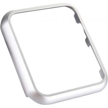Защитная накладка Uniya для Apple Watch 42 мм Series 1 / 2 / 3 серебристая