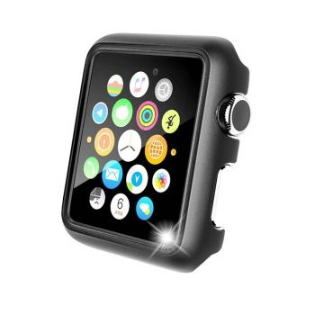 Защитная накладка Uniya для Apple Watch 42 мм Series 1 / 2 / 3 серая