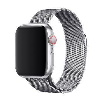 Защитный магнитный чехол Uniya для Apple Watch Series 4 44 мм Silver
