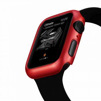 Защитный магнитный чехол Uniya для Apple Watch Series SE / 6 / 5 / 4 (44 мм) Red