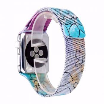 Металлический плетёный ремешок Apple Lily Milanese Loop для Apple Watch 42 - 44mm