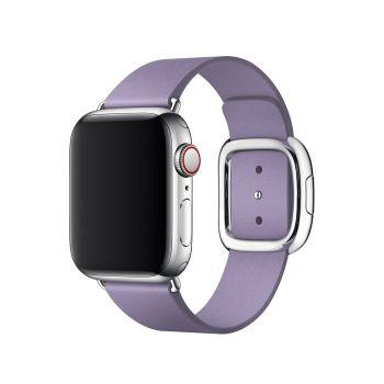 Кожаный ремешок Apple Modern Buckle Lilac для Apple Watch 38 - 40 мм лиловый