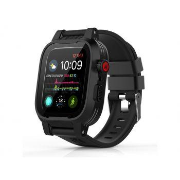 Водонепроницаемый и ударопрочный чехол Shellbox Black черный для Apple Watch Series SE / 6 / 5 / 4 (40 мм) Black