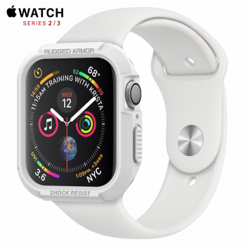Чехол Spigen Rugged Armor Case для Apple Watch 42 мм White