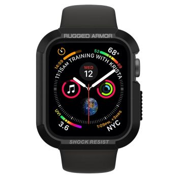 Чехол Spigen Rugged Armor Case для Apple Watch 40 мм Black