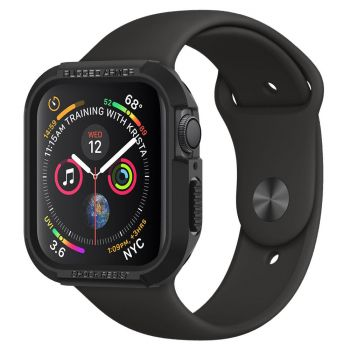 Чехол Spigen Rugged Armor Case для Apple Watch 44 мм Black