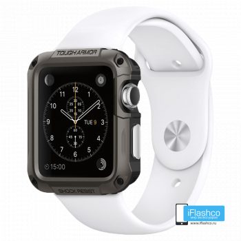 Чехол Spigen Tough Armor Case для Apple Watch 40 мм Gunmetal