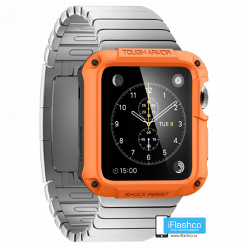 Чехол Spigen Tough Armor Case для Apple Watch 40 мм Orange