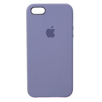 Чехол Apple Silicone Case для iPhone 5 / 5S / SE Lavender