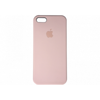 Чехол Apple Silicone Case для iPhone 5 / 5S / SE Pink Sand