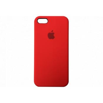 Чехол Apple Silicone Case для iPhone 5 / 5S / SE Red