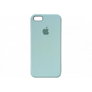 Чехол Apple Silicone Case для iPhone 5 / 5S / SE Turquoise