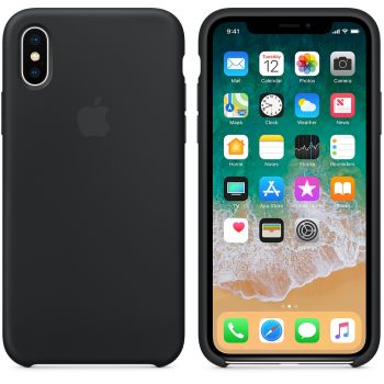 Чехол Apple Silicone Case для iPhone X/Xs Black
