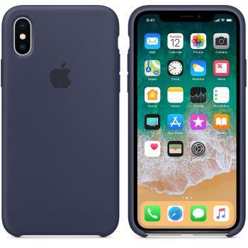 Чехол Apple Silicone Case для iPhone X/Xs Midnight Blue
