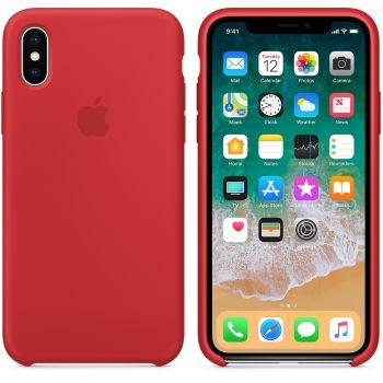 Чехол Apple Silicone Case для iPhone X/Xs Red
