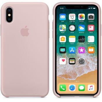 Чехол Apple Silicone Case для iPhone X/Xs Pink Sand