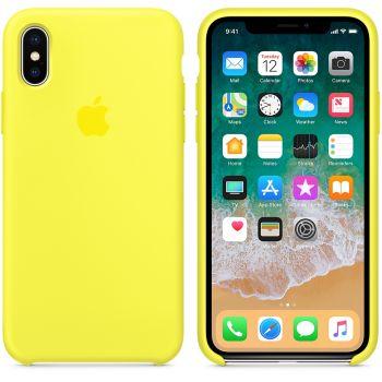 Чехол Apple Silicone Case для iPhone X/Xs Flash