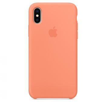 Чехол Apple Silicone Case для iPhone X/Xs Peach