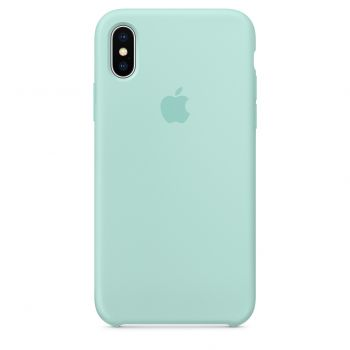 Чехол Apple Silicone Case для iPhone X/Xs Marine Green