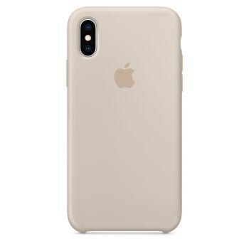 Чехол Apple Silicone Case для iPhone X/Xs Stone