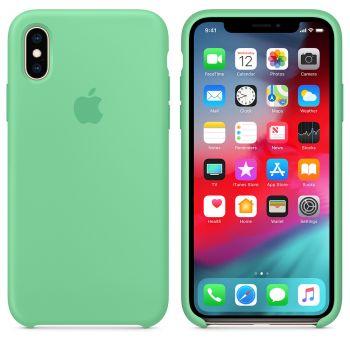Чехол Apple Silicone Case для iPhone X/Xs Spearmint