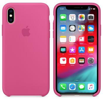 Чехол Apple Silicone Case для iPhone X/Xs Dragon Fruit