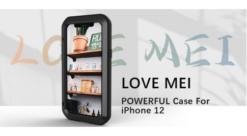 Ударопрочные чехлы Love Mei Powerful для iPhone 12