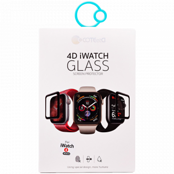 Защитное 3D-стекло COTEetCI Tempered Glass 3D Curved для Apple Watch Series SE / 6 / 5 / 4 (40 мм)