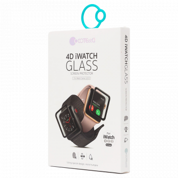Защитное 3D-стекло COTEetCI Tempered Glass 3D Curved для Apple Watch Series 3 / 2 / 1 (42 мм)