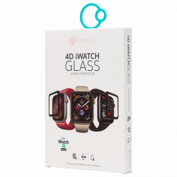 Защитное 3D-стекло Tempered Glass 3D Curved для Apple Watch Series SE / 6 / 5 / 4 (44 мм)