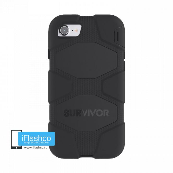 Чехол Griffin Survivor для iPhone 7 / 8 черный