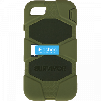 Чехол Griffin Survivor для iPhone 7 / 8 зеленый