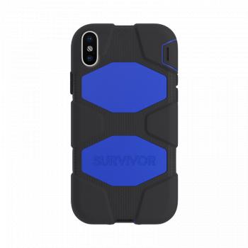 Чехол Griffin Survivor All-Terrain для iPhone X/XS Black / Blue