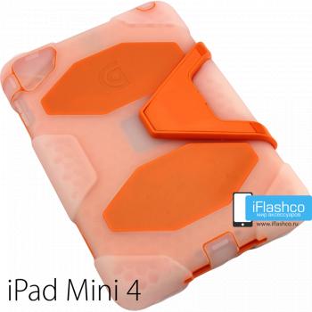 Чехол противоударный Griffin Survivor для iPad mini 4 / 5 оранжевый прозрачный