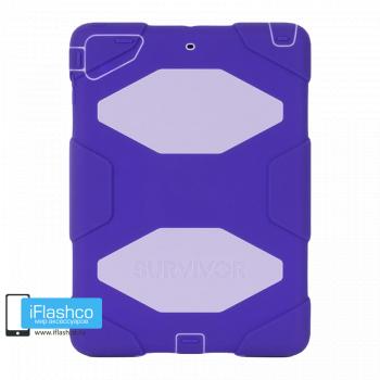 Чехол Griffin Survivor All-Terrain для iPad Air фиолетовый с белым
