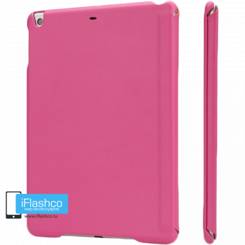Чехол Jisoncase для iPad Air / Air 2 малиновый