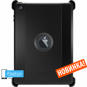 Чехол OtterBox Defender для iPad 2017 - 2018 (5th - 6th Gen) Black черный
