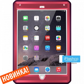 Чехол OtterBox Defender для iPad 2017 - 2018 (5th - 6th Gen) Crushed Damson фиолетовый