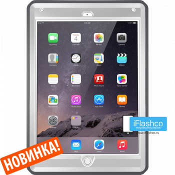 Чехол OtterBox Defender для iPad 2017 - 2018 (5th - 6th Gen) Glacier серый