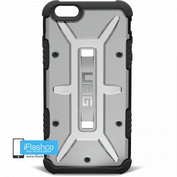 Чехол Urban Armor Gear Ash для iPhone 6 Plus / 6s Plus черный прозрачный