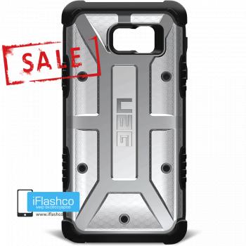 Чехол Urban Armor Gear Ash для Samsung Galaxy Note 5 черный прозрачный