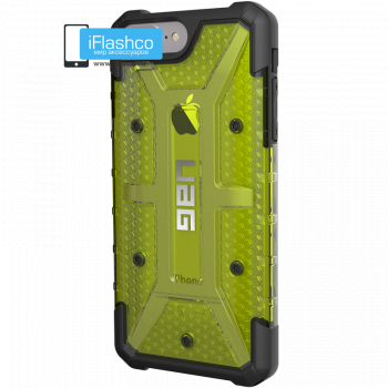 Чехол Urban Armor Gear Citron для iPhone 6 Plus / 6s Plus зеленый прозрачный