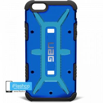 Чехол Urban Armor Gear Cobalt для iPhone 6 Plus / 6s Plus синий прозрачный