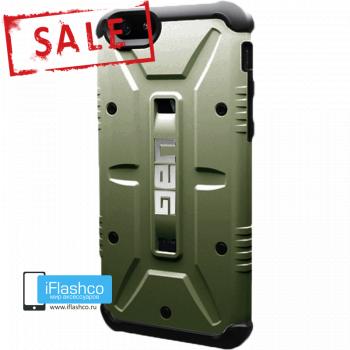 Чехол Urban Armor Gear Green для iPhone 6 / 6s зеленый