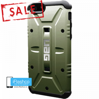 Чехол Urban Armor Gear Green для iPhone 6 Plus / 6s Plus зеленый