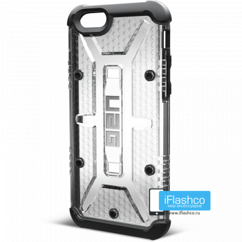 Чехол Urban Armor Gear Maverick для iPhone 6 / 6s прозрачный