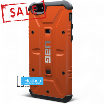 Чехол Urban Armor Gear Outland для iPhone 6 / 6s оранжевый
