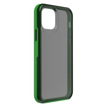 Ударопрочный чехол LifeProof SLAM Series Light Grey / Green для iPhone 12 Pro Max