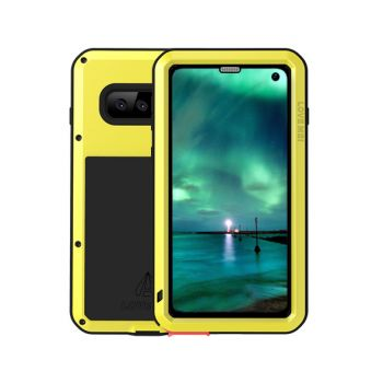 Чехол Love Mei Powerful для Samsung Galaxy S10 Yellow желтый